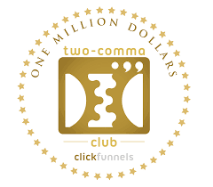 Click funnels 2 comma club award logo | Agency Coach